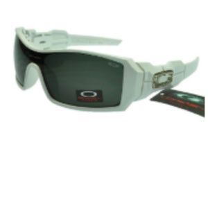 Cheap Oakley Oil Rig Sunglasses Black Lens Lavende